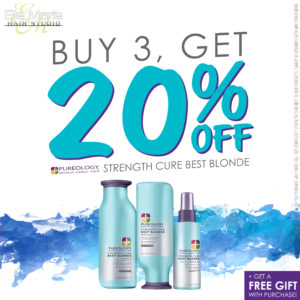 September 2018 Pureology Best Blonde Promotion - Buy 3, Get 20% Off PLUS a Free Gift!