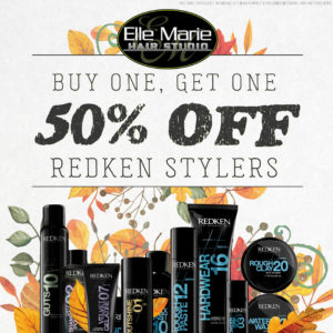 September 2018 Redken Stylers Promotion - Buy One, Get One 50% OFF!